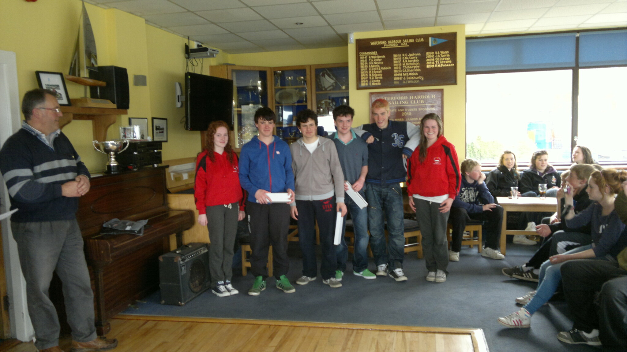 School Sailing Competition Dunmore Eat